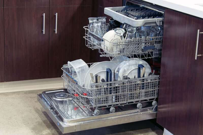 how to clean inside of lg dishwasher