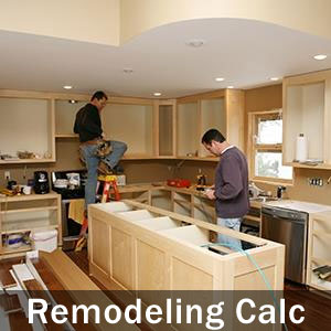 Remodeling costs for 2017 for Remodel estimator