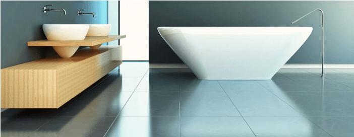 Radiant Floor Heating In Bathroom : Steamy bathroom ideas