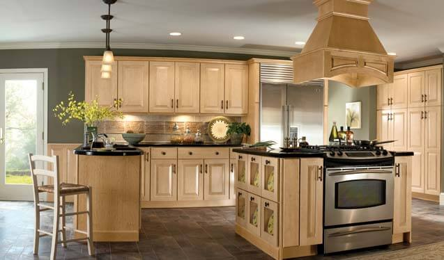 7 inspiring kitchen remodeling ideas get average remodel cost per square foot Kitchen design with light oak cabinets