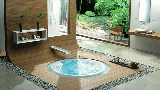 Luxury Round Tub