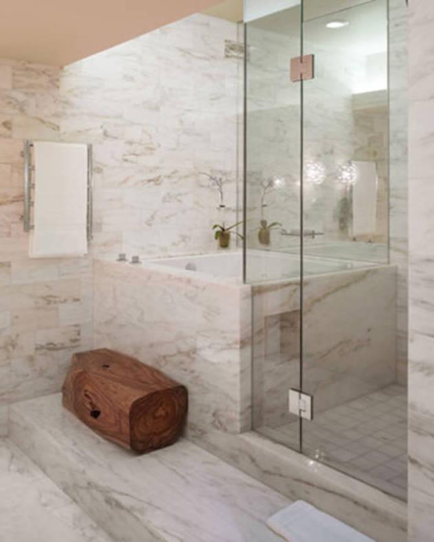 Bathroom Renovation Calculator: Porcelain Stone Bathroom Tile, White