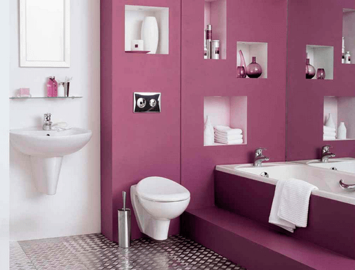 Interior painting cost diy vs contractor for Bathroom color ideas 2013