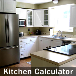 kitchen calculator - Cost To Install New Kitchen Cabinets