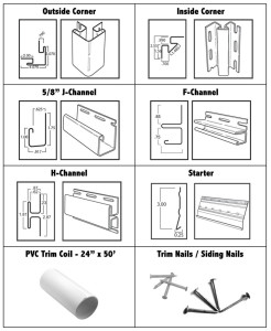 Vinyl Siding Trim Accessories