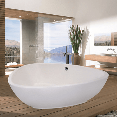 Bathroom tub trendy bath u shower free standing bath tub Best acrylic tub