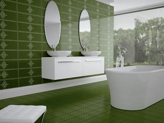 Bathroom remodel ideas tile designs for Forest bathroom ideas