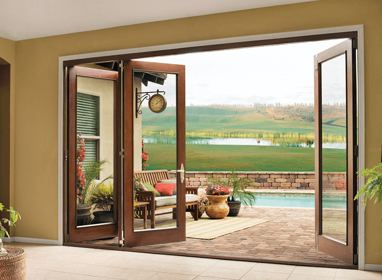 Sliding Wood Patio Doors exterior house doors: installation costs, design and style