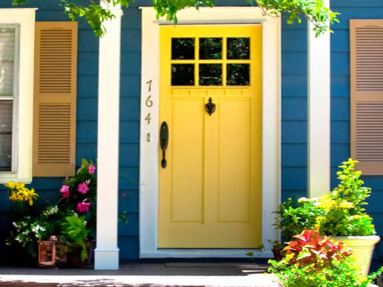 Exterior house doors installation costs design and style for Front entry door installation