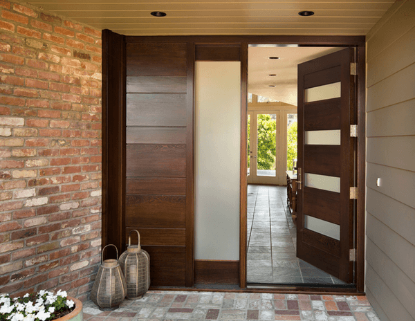 Exterior door installation cost get prices for popular for Contemporary house doors