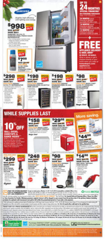 home depot black friday 2014 ad page 14. Black Bedroom Furniture Sets. Home Design Ideas