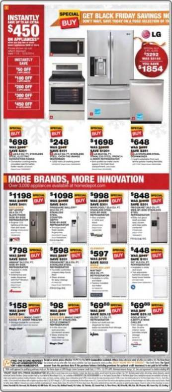 Home depot early deals p2 for Deals by depot