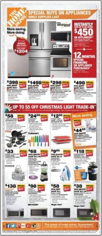 Home depot early deals p6 for Deals by depot