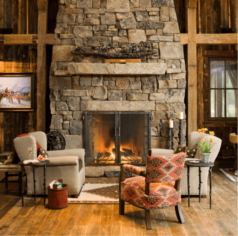 Country Rustic Living Room: 15 Reclaimed Wood Flooring Ideas For Every Room