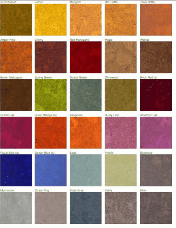 Cork Flooring Colors
