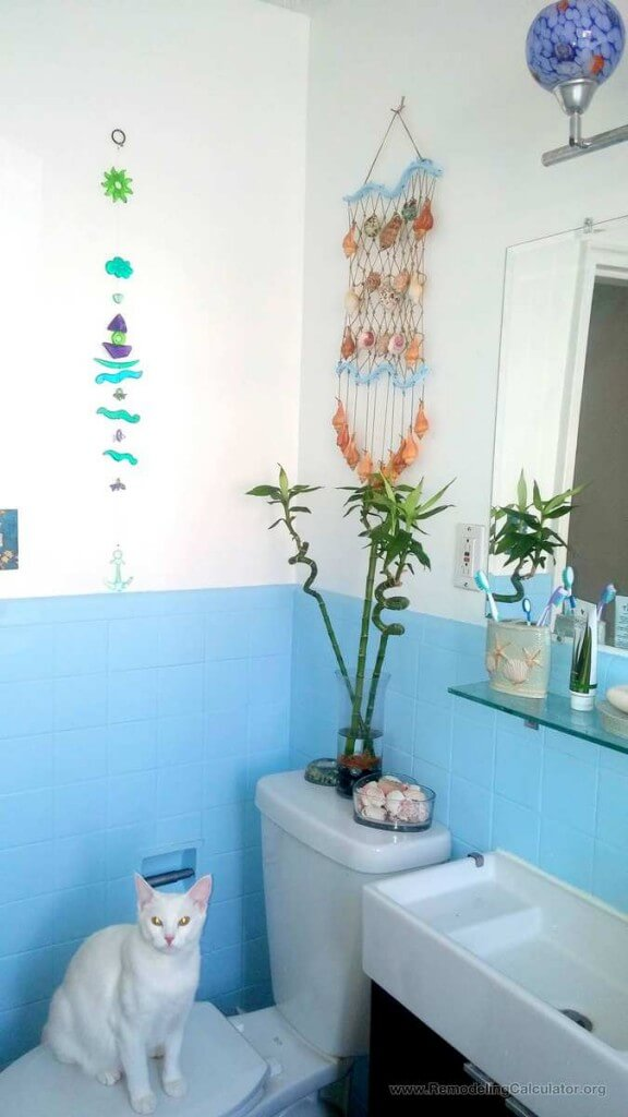 $169 Delta Toilet from Home Depot - DIY Small Bathroom remodel