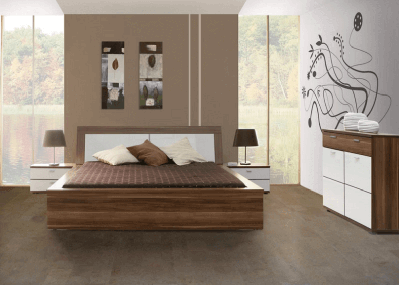 Cork floors 21 awesome design ideas for every room of for Master bedroom flooring ideas
