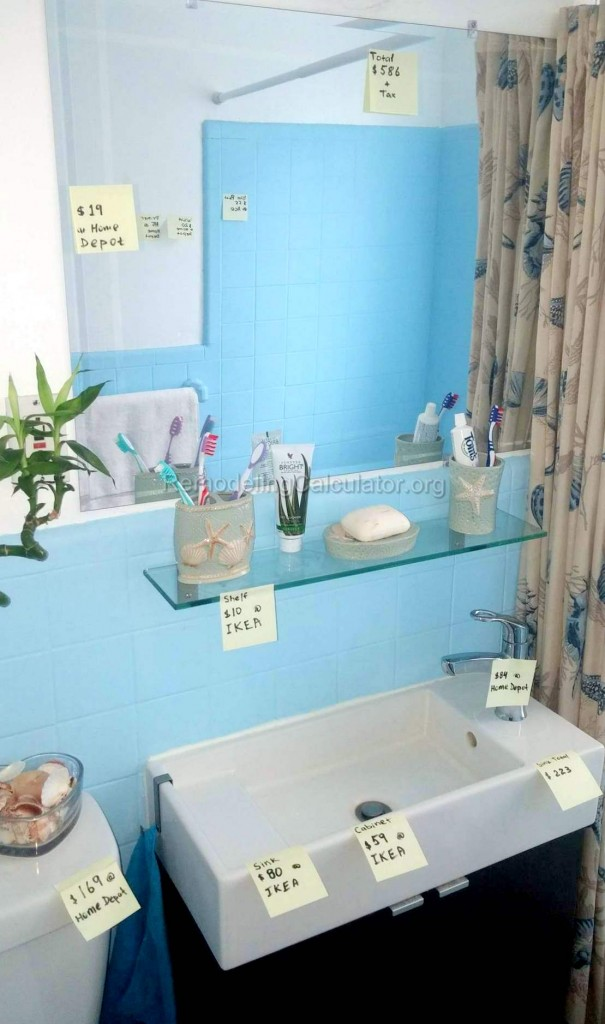 Bathroom Renovation Under 2000 small bathroom remodel for $750 or less