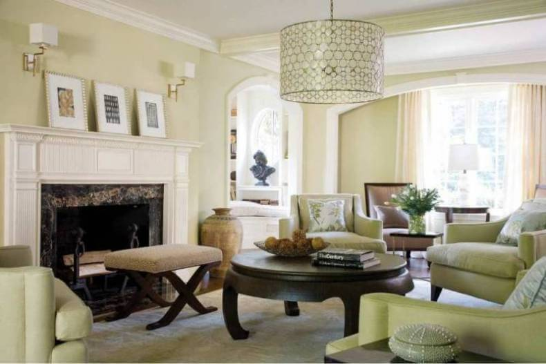 Interior Trim Paint Ideas : Interior painting costs make a statement with color