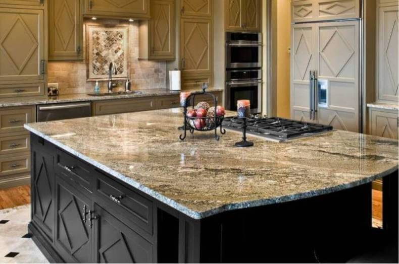 Top kitchen countertop materials pros and cons for Engineered quartz countertops