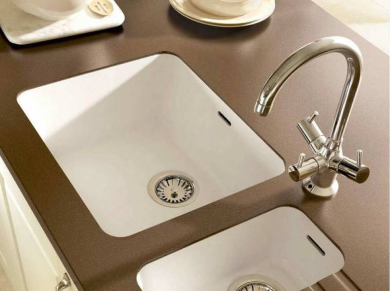 Integrated Kitchen Sink : Integrated Solid Surface Kitchen Sink