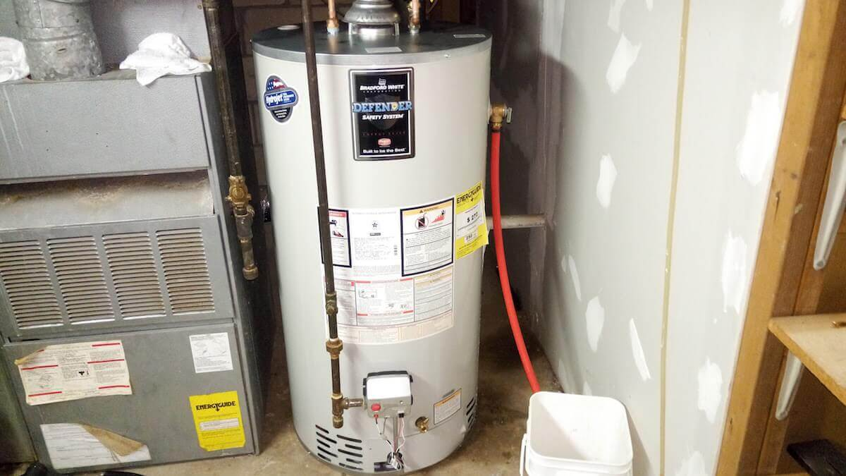 50 Gallon Hot Water Heater - Bradford White - $1200 installed
