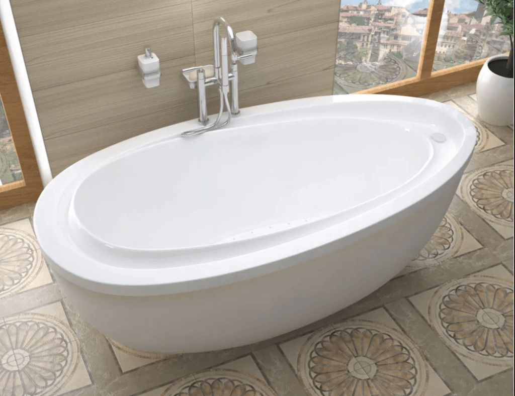 7 best types of bathtubs prices styles pros cons for Pros and cons of acrylic bathtubs