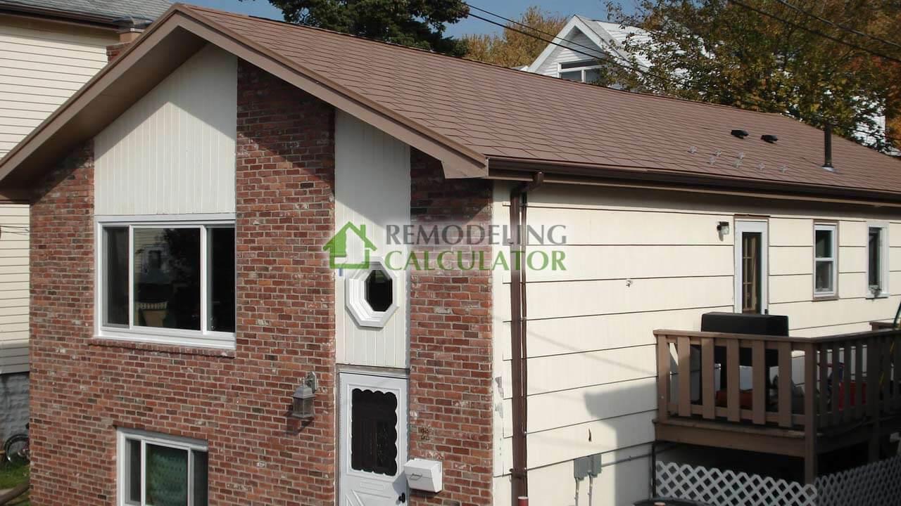 Aluminum Shingles Metal Roof In Revere Ma
