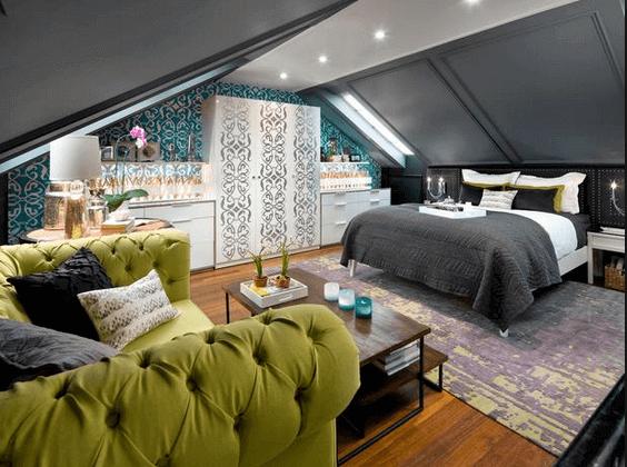 Attic Bedroom Remodel