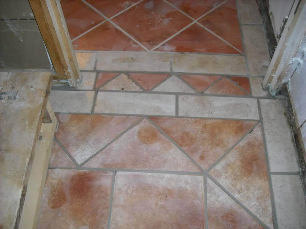 Bad tile job