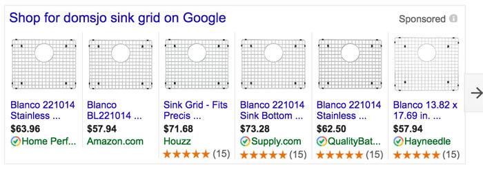 Blanco IKEA Domsjo Steel Sink Grids
