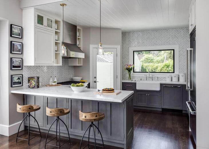 Budget Kitchen remodel cost for a foreclosure