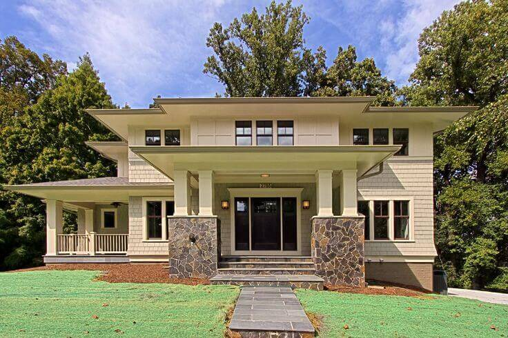 Cape Style Home With A Flat Roof Remodeling Cost Calculator