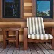 Modern Tongue and Groove Cedar Siding