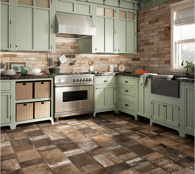 Types Of Kitchen Flooring Ideas: 8 Tips To Choose The Best Tile Floors For Every Room