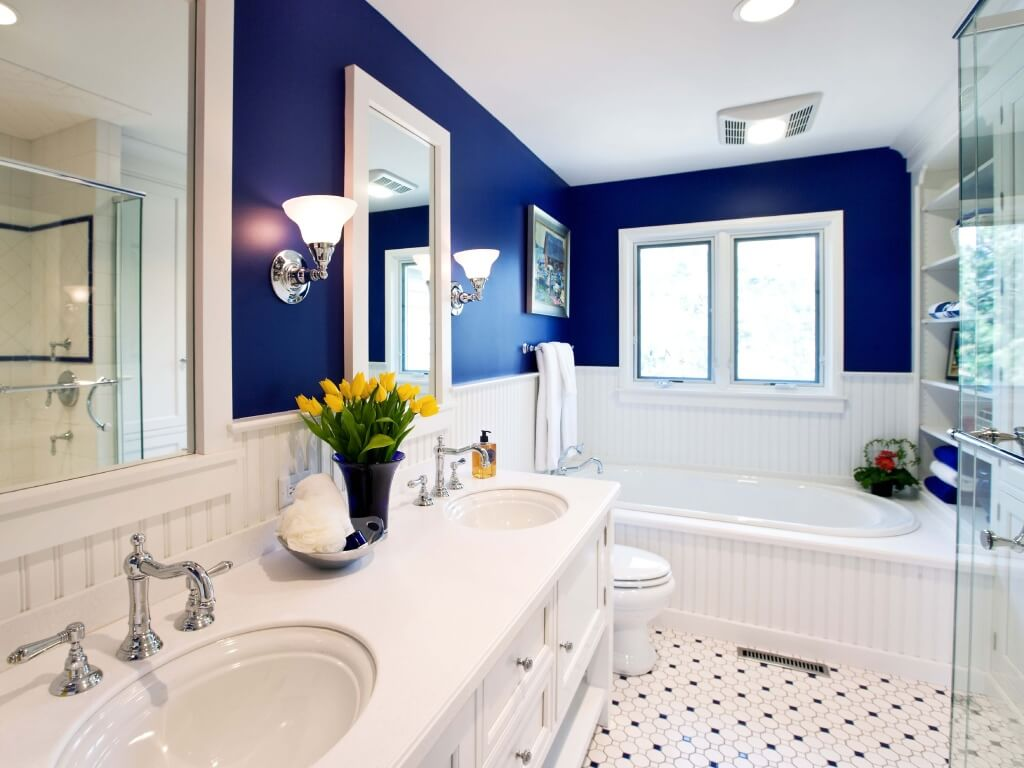 Best Bathroom Paint interior painting: paint types, costs and applications