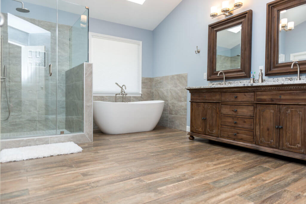 2018 bathroom renovation cost guide for Complete bathroom remodel