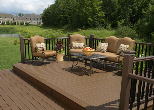 2018 cost to build a deck estimate prices for top for Cost of composite decking vs pressure treated