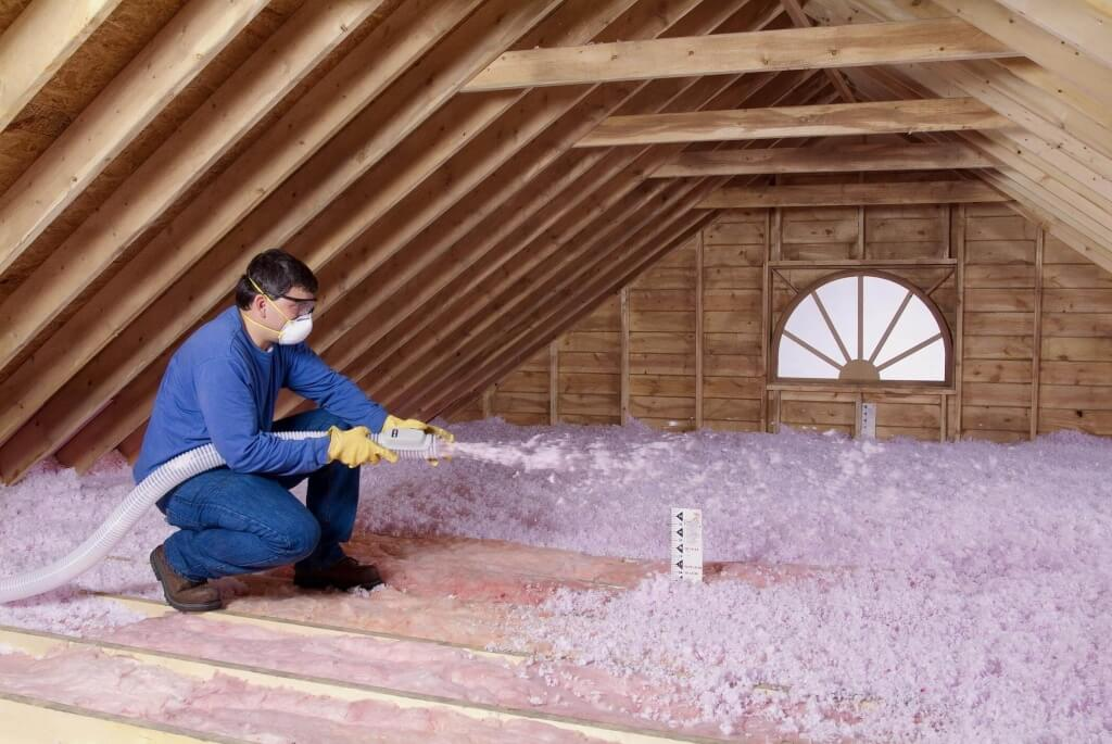 attic insulation cost  estimate blown