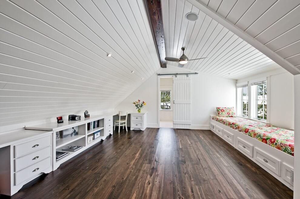 Turn attic into a finished loft