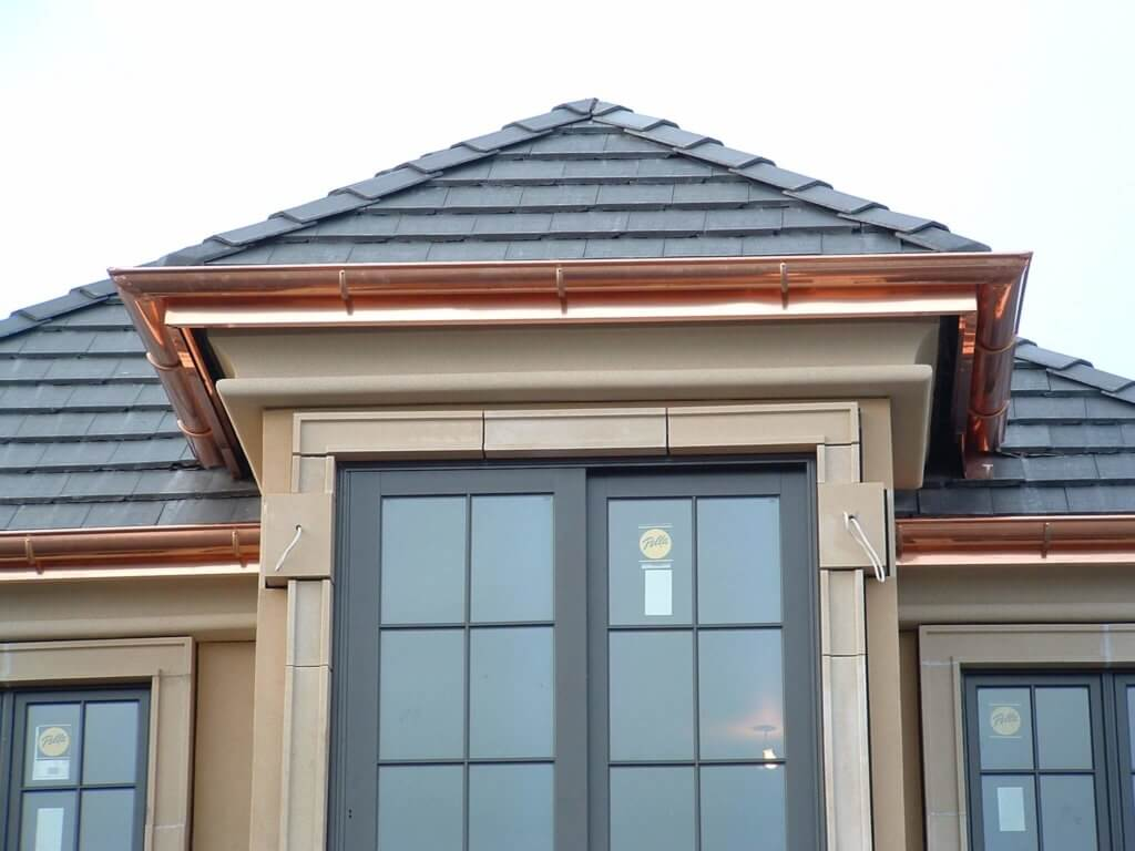Gutter Installation Cost Calculator Estimate Prices For Seamless Replacing Aluminum Wiring With Copper Gutters