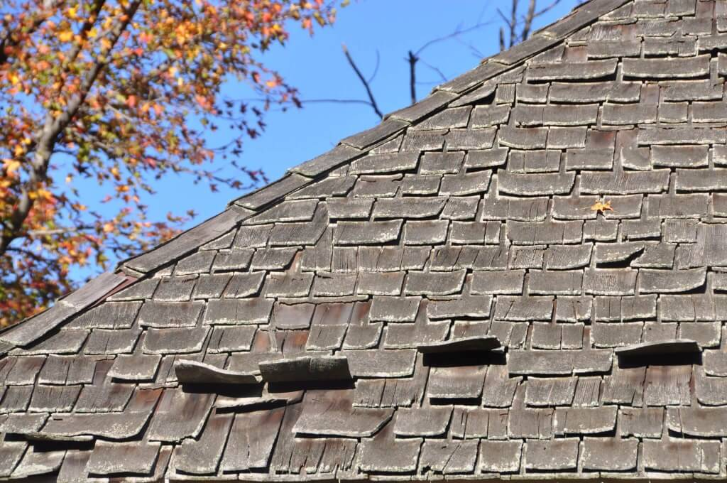 Marvelous Damaged Cedar Shingles Roof