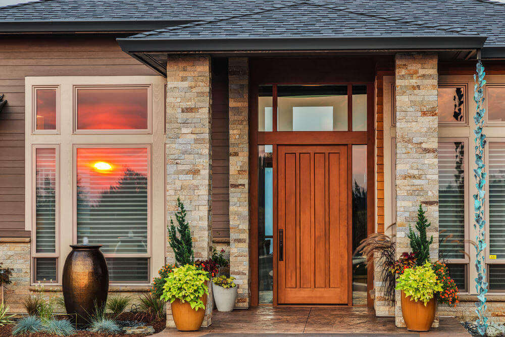 Decorative Contemporary Front Door