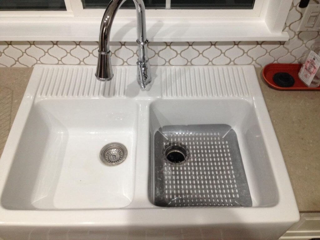 Domsjo Sink With Rubber Mat