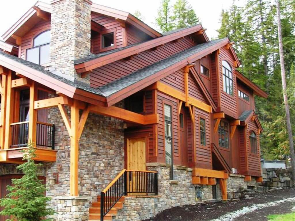 7 stunning wood siding types that will transform your home for Types of house siding materials