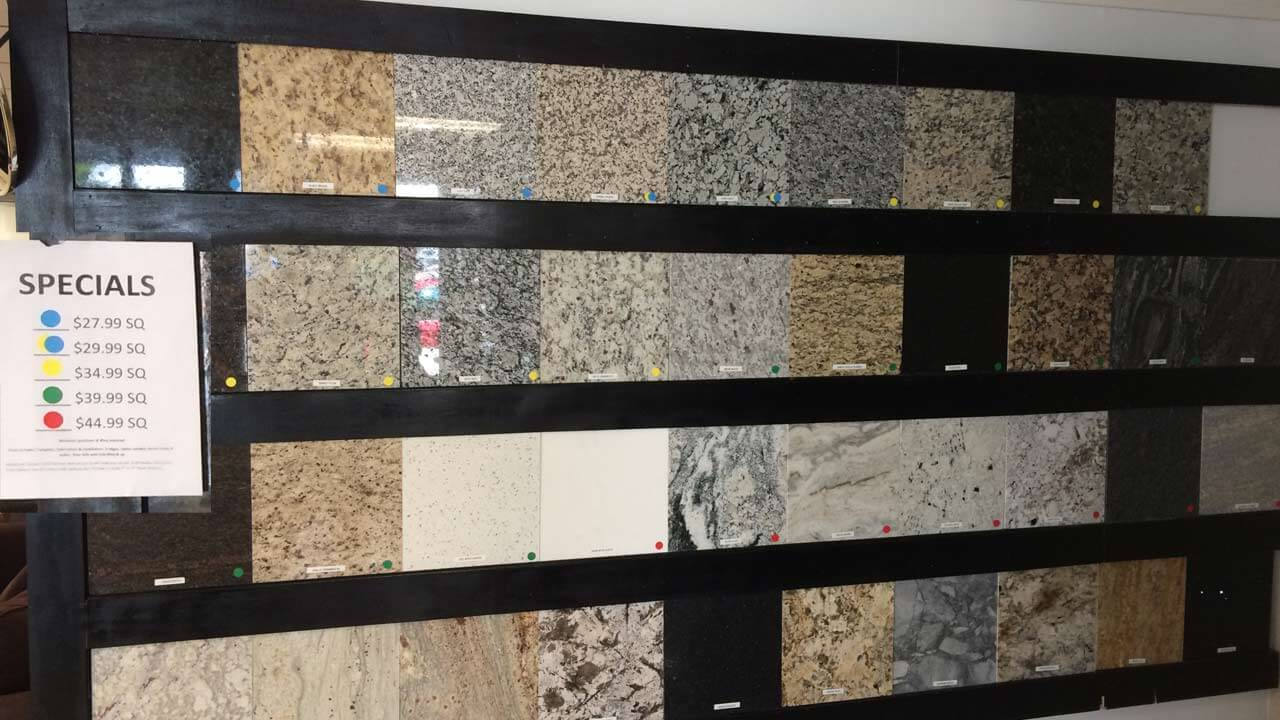 Granite countertops cost guide for 2018 for Granite countertops colors price
