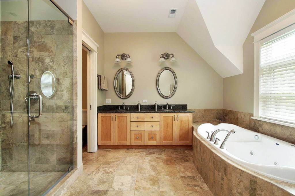 Beau Cost Of High End Bathroom Remodel