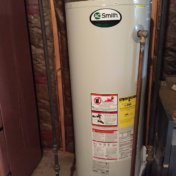 hot water heater sizes