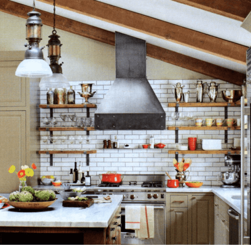 do you love the unrefined bold look of an industrial style kitchen