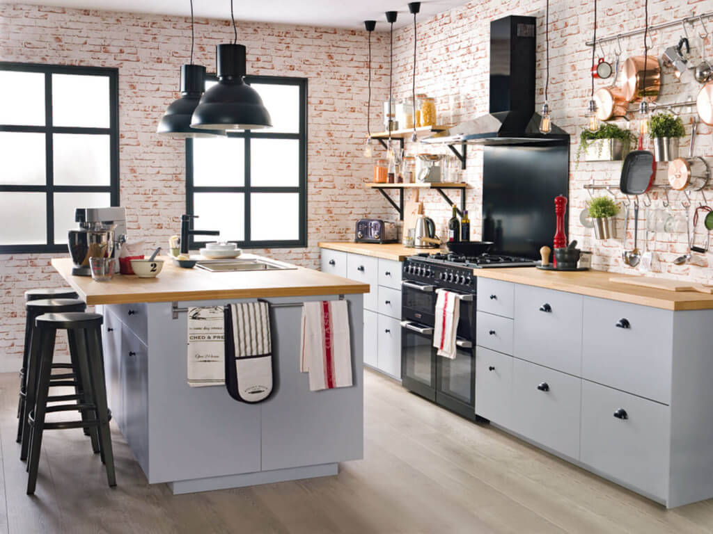 Industrial Kitchen Furniture Industrial Style Kitchen Remodel Cost